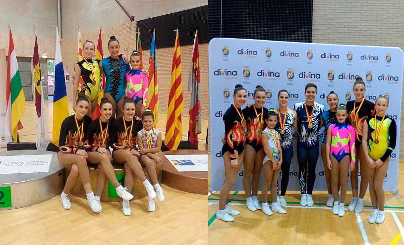 Copa-de-España-de-Aeróbic-gimnastas-sorianas