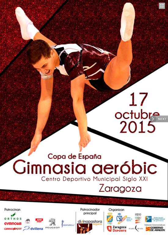 campeonato de españa en gimnasia aerobica en zaragoza